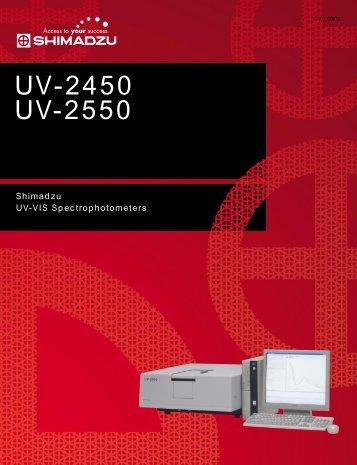UV-2450 UV-2550