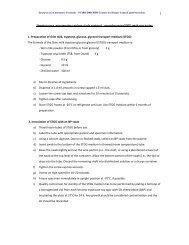 Streptococcus pneumoniae carriage study protocol - Centers for ...