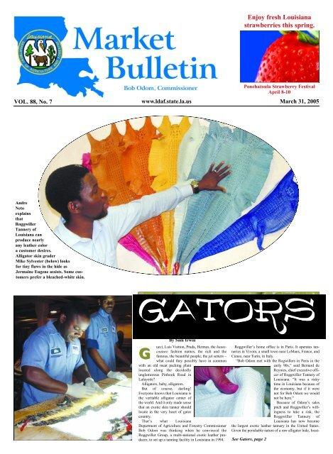 Page 2 MARKET BULLETIN Ma