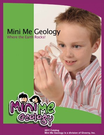 Mini Me Geology Catalog