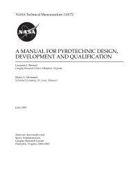 a manual for pyrotechnic design, development and qualification