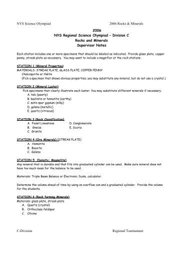 chemistry olympiad study guide — College Confidential