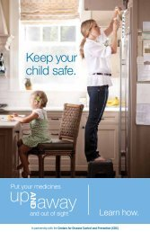Keep your child safe.