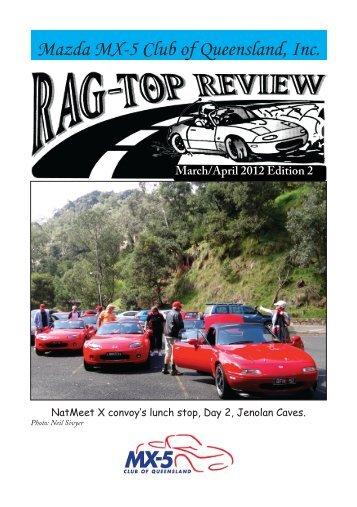Mazda MX-5 Club of Queensland, Inc. - MX5 Club Qld