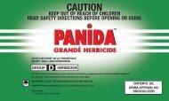Sipcam Panida Grande label