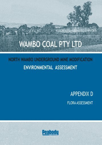 Appendix D - Flora Assessment - Peabody Energy