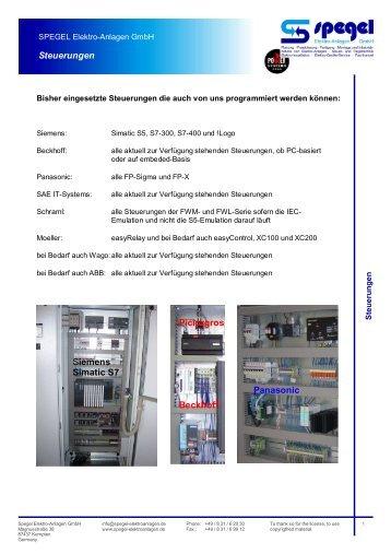 Spegel Elektro-Anlagen GmbH