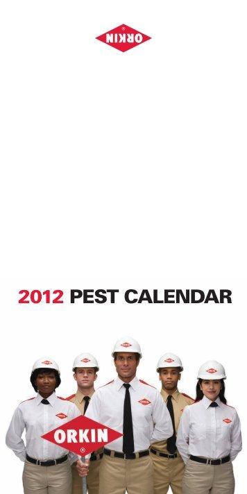 2012 Pest Calendar - Orkin