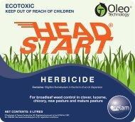 Headstart Label - Zelam