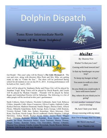 Dolphin Dispatch, November/December 2012 - Toms River ...