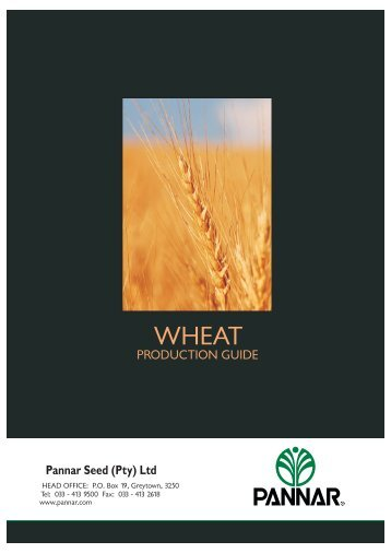 Wheat Production Guides.pdf - Pannar Seed