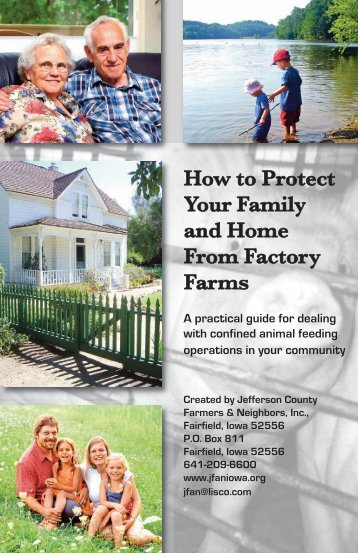 How to Protect Your Family and Home From Factory Farms