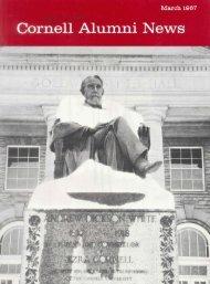 Cornell Alumni News - eCommons@Cornell - Cornell University