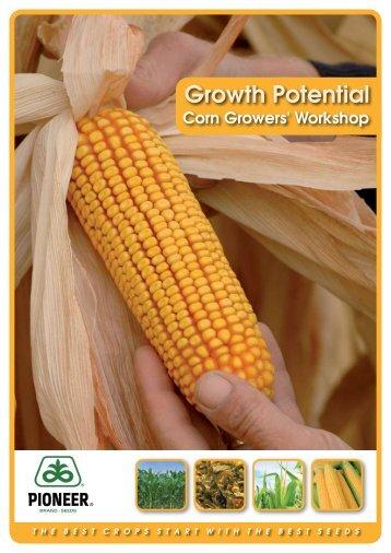 Corn Work Shop Book - Pioneer
