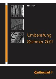 Umbereifung Sommer 2011