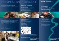 perspektive kontakt - Spektrum - Gesellschaft für berufliche Bildung ...