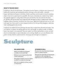 Sculpture - Education - MoCA