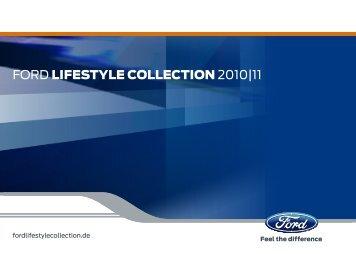 Ford Lifestyle-Katalog