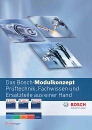Das Bosch-Modulkonzept Pr