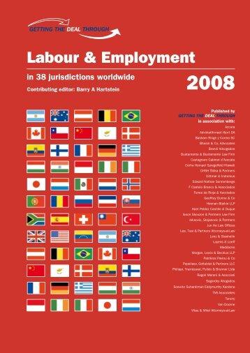 Labour & Employment 2008 - SSEK