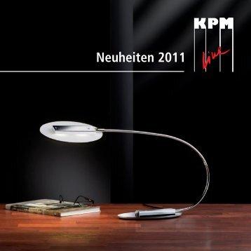 KPM Katalog Neuheiten 2011 - Lampen-Shop Sissach
