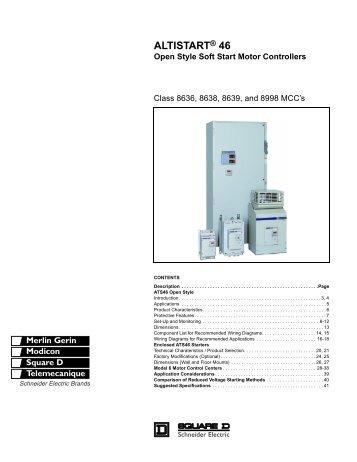 Display unit and programm for Schneider motor starter selection guide