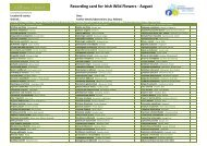 Flora Record card_August_Scienfic_Name - Vascular Plants ...