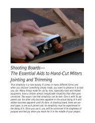 Shooting Boards - Popular Woodworking Magazine