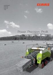 Power. Precision. Profit. - CLAAS.com