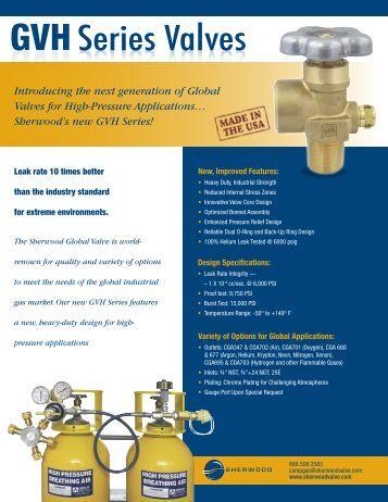 gv series o-ring seal design industrial valves - Cramer Decker ...