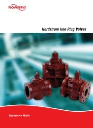 Nordstrom Iron Plug Valves Brochure - Flowserve Corporation