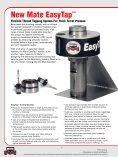 Mate EasyTap™ Flexible Thread Tapping System for Thick Turret ... - Page 2