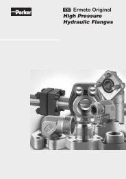 Ermeto Original High Pressure Hydraulic Flanges