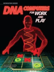 DNA Computers for Work and Play - University of Virginia