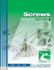 Screws - All Fasteners