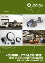 industrial stainless steel - Total Stainless & Engineering Supplies.