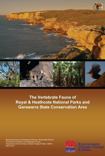 The Vertebrate Fauna of Royal and Heathcote National Parks and ...