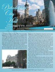 Philadelphia City Hall - Daniel J. Keating Company