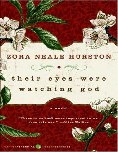 Their Eyes Were Watching God - Get a Free Blog