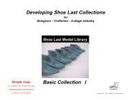 Developing Shoe Last Collections