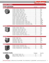 Workholding & Positioning - Fairlane Products
