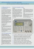 TG1010A 10MHz DDS Function Generator with Arbitrary ... - ratolab - Page 2