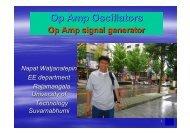 Chapter 4 op amp oscillators