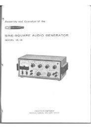 Heathkit IG-18 Sine square audio generator - Italy
