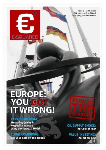 Summer 2011 Issue - e-squared.eu