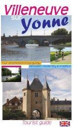Tourist guide - Office de Tourisme de Villeneuve-sur-Yonne