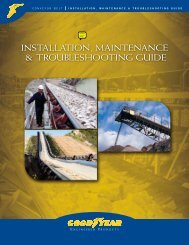 installation, maintenance & troubleshooting guide - Goodyear ...