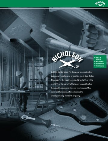 Files & Rasps Machetes Handsaws Hacksaws In ... - Apex Tool Group