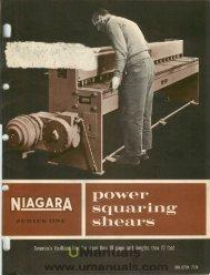 Power Squaring Shears - Series 1 - UManuals