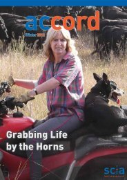 Grabbing Life by the Horns - Spinal Cord Injuries Australia